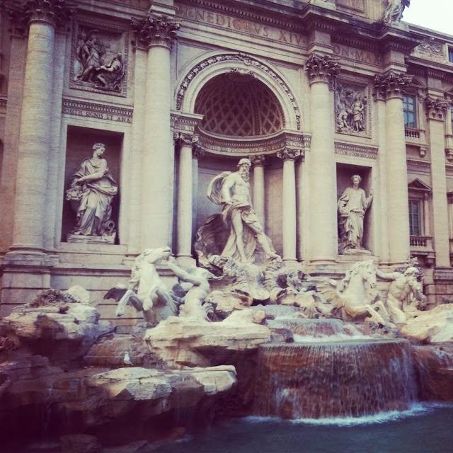 Fontana Di Trevi y Piazza Di Spagna: Roma dia 1 (I)