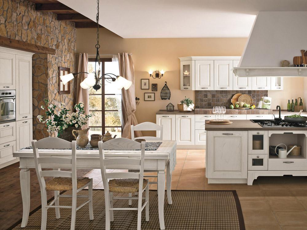 La cucina di oggi bella e pratica shabby chic interiors - Foto cucine country ...
