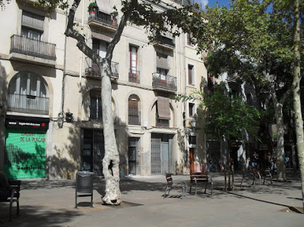 plaça Osca. Setembre 2016