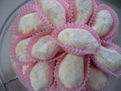 cara membuat kue kering putri salju