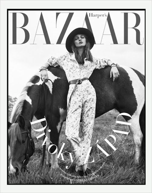 Model @ Daga Ziober - Harper'S Bazaar Czech, July 2015