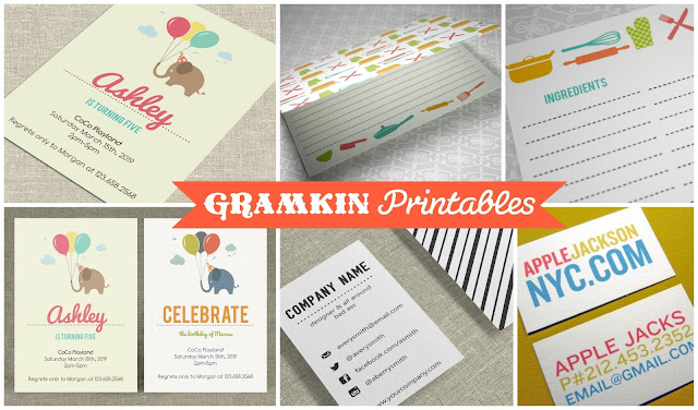 GRAMKIN PRINTABLES!