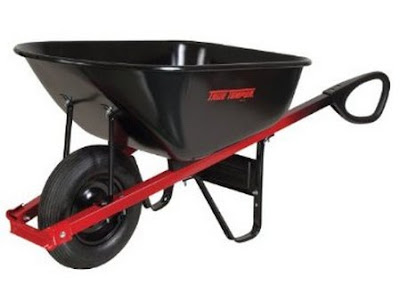 Must Have Gardening Tools, Steel Tray Wheelbarrow