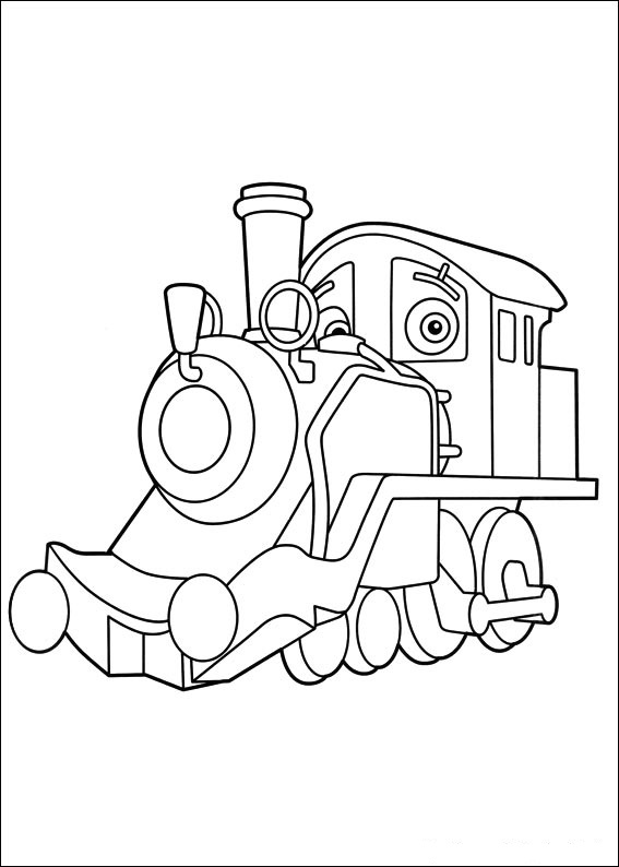 Fun coloring pages chuggington train coloring pages for Chuggington coloring pages
