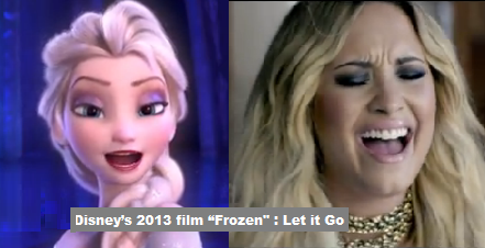 "Demi Lovato's Hit ""Let it Go"" Became Popular"