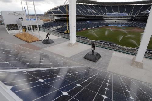 Solar energy major league baseball business insider for Kansas solar installers