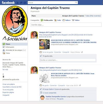 Unete a la Asociación Amigos del Capitán Trueno