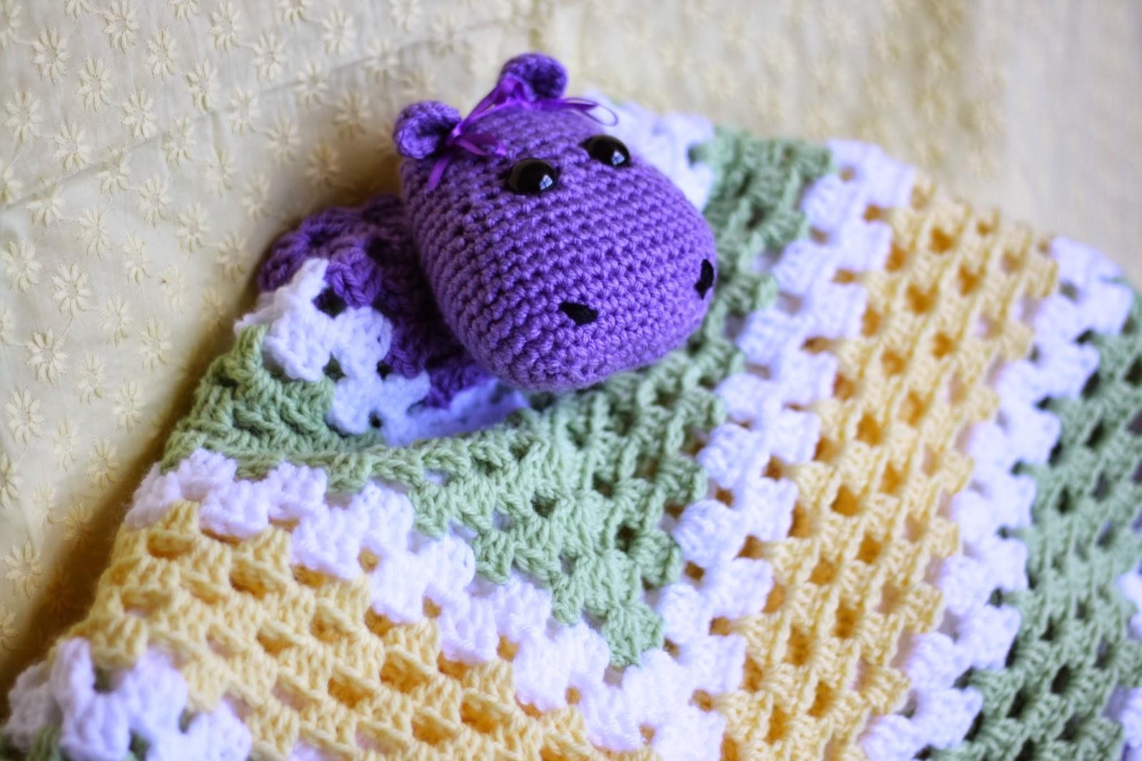 Free Amigurumi Hippo Pattern : Pip the hippo amigurumi lovey security blanket crochet pattern review