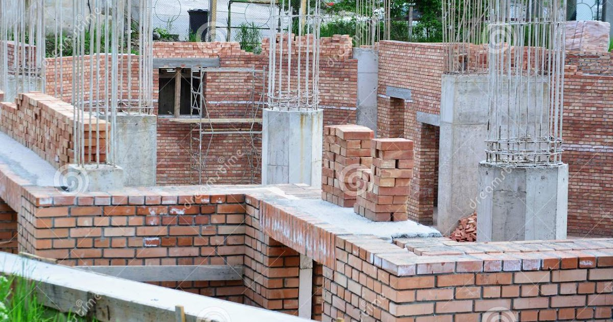 Bearing Masonry Wall Construction : House construction in india frame structure vs load