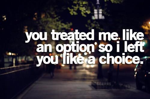 move on choice