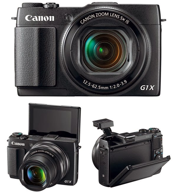 Canon PowerShot G1X Mark II, mini DSLR, NFC, Wi-Fi, Full HD video, Android, iOS, creative photo, new canon lens,