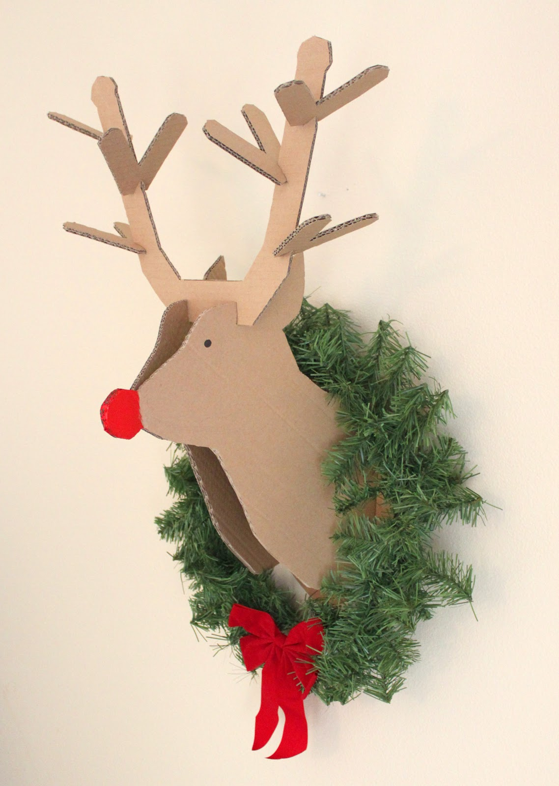 creatively christy: DIY Cardboard Reindeer