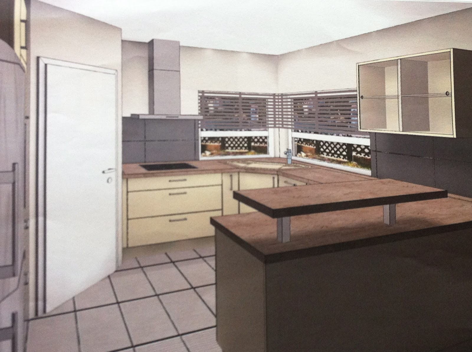 Hausbau von Dani, Markus & Lenny: Küchenplanung Teil 2