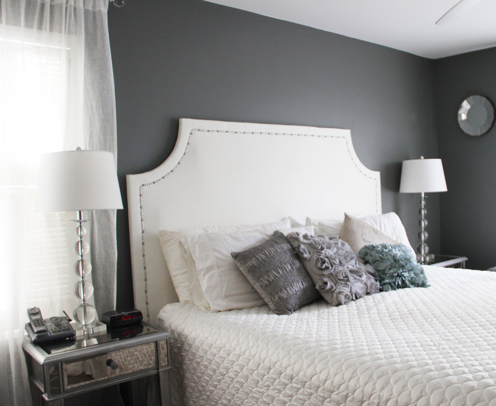 Running from the law diy upholstered headboard Make your own headboard