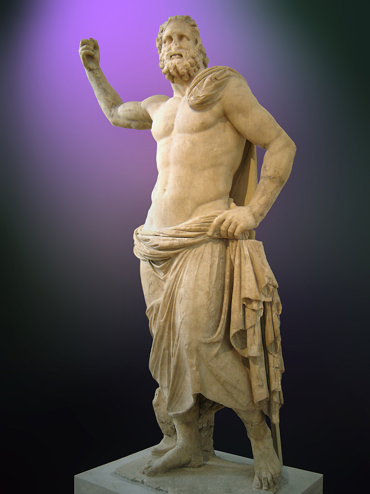 Paranormal poseidon - Poseidon statue greece ...