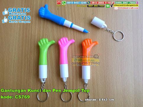 Gantungan Kunci Dan Pen Jempol Top