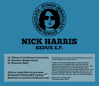 Nick Harris Redux EP Stoned Immaculate