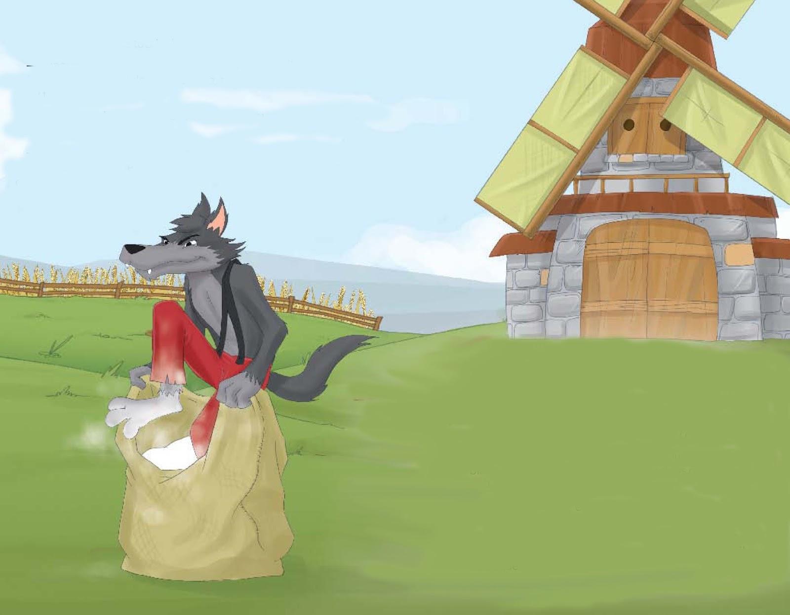 El Lobo y los 7 Cabritos   Cuentos y Fábulas Infantiles