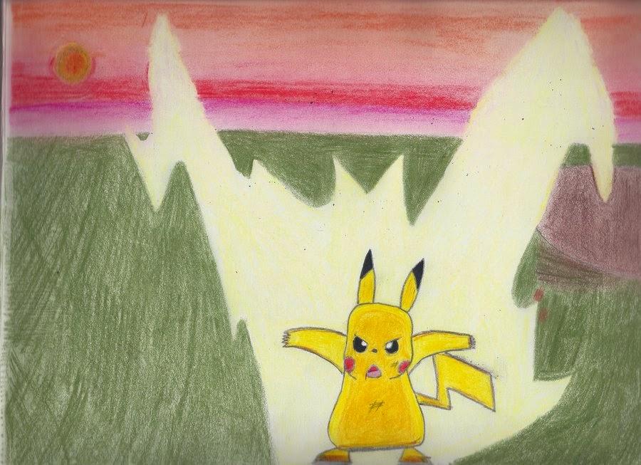 Pikachu Thunderbolt