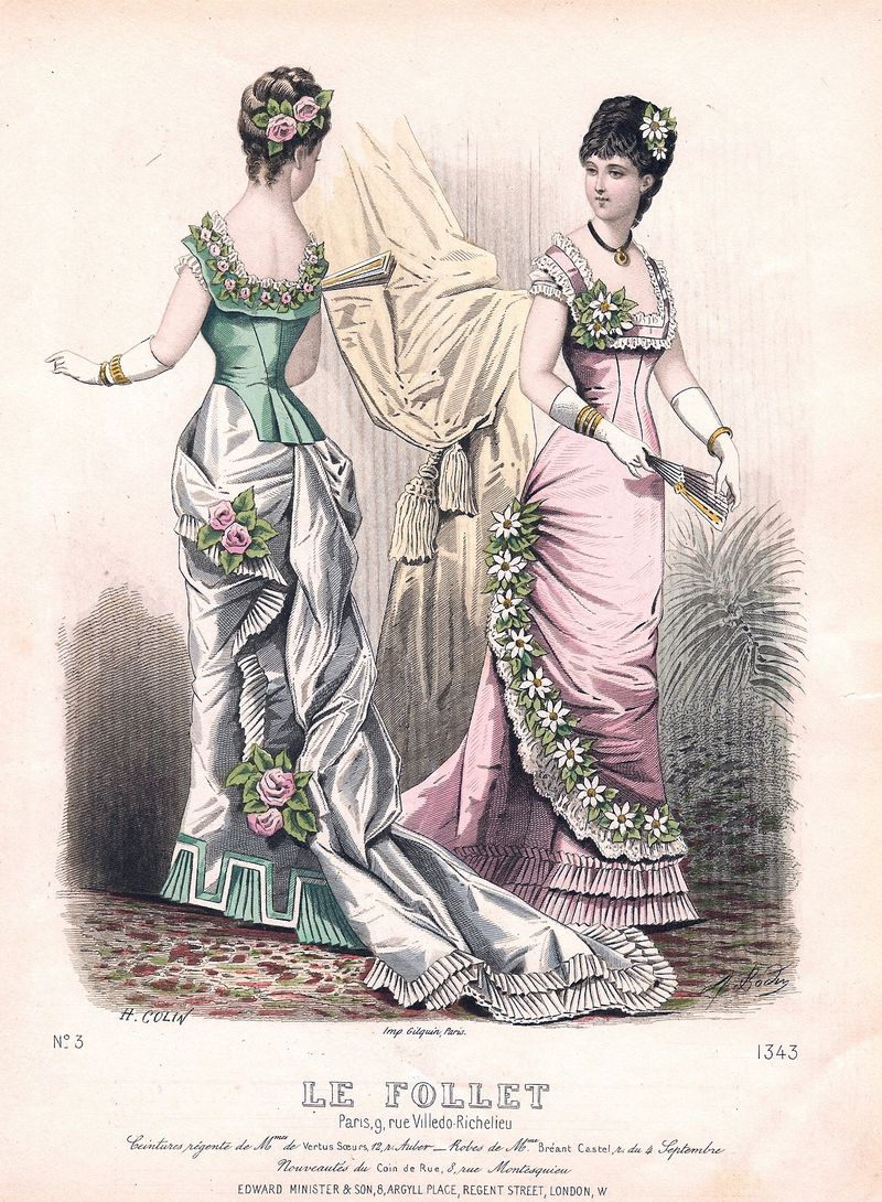 Victorian Era Fashion Vogue Magazine