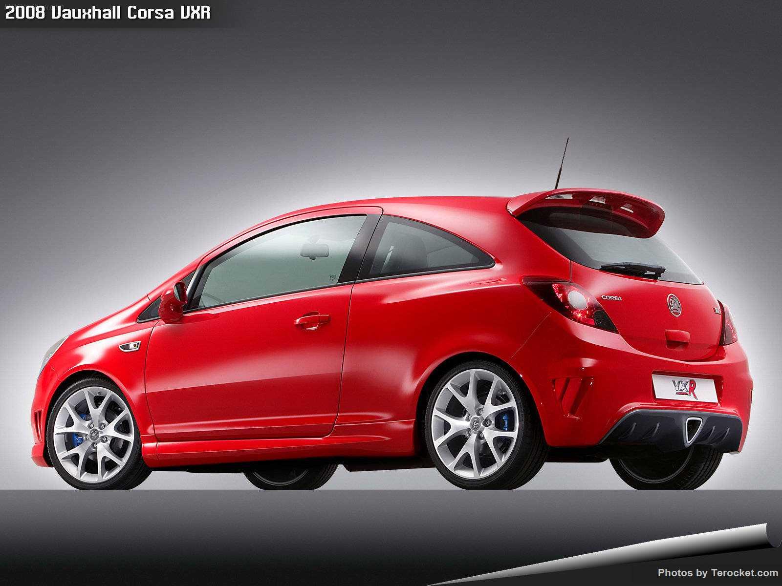 Hình ảnh xe ô tô Vauxhall Corsa VXR 2008 & nội ngoại thất