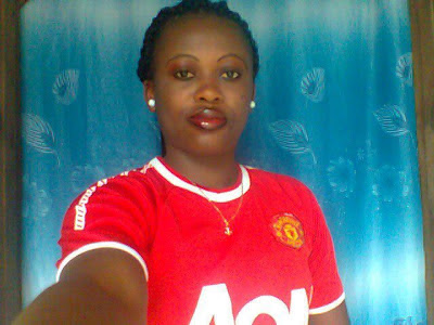 Ighfose - A Manchester United girl from Nigeria