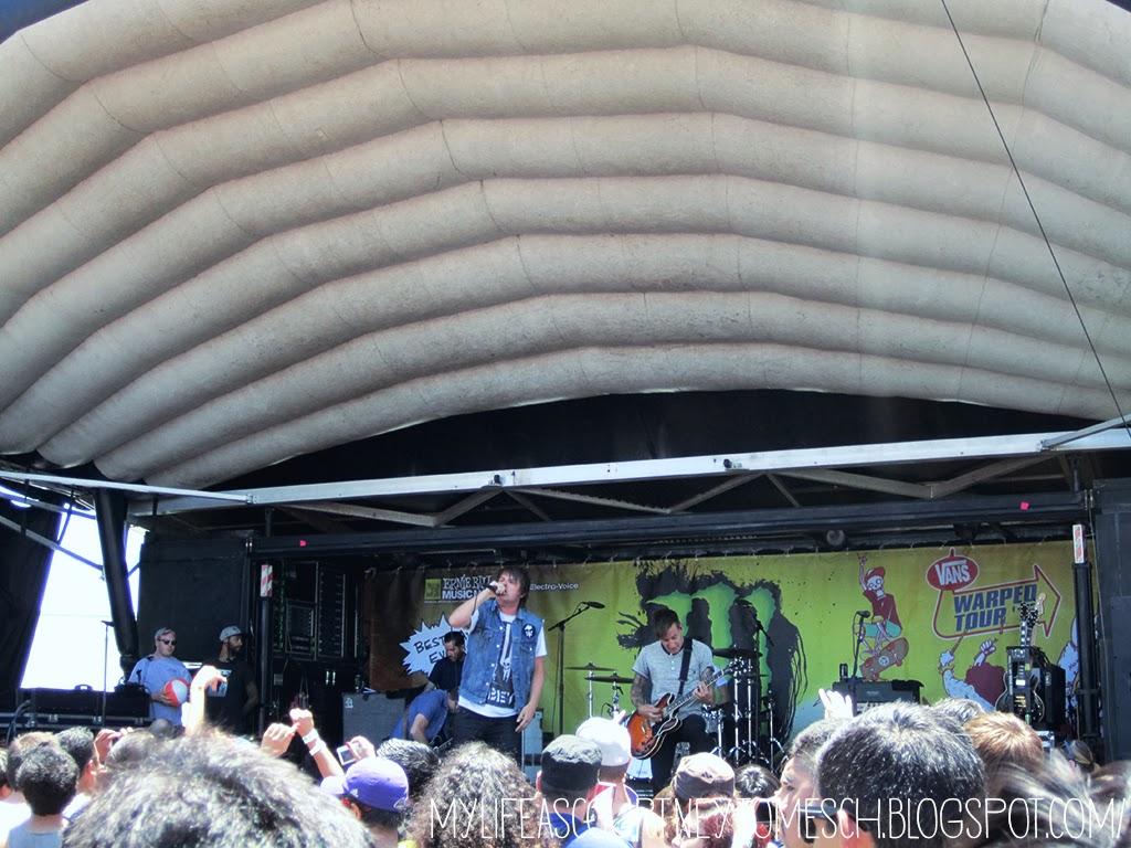 Vans Warped Tour 2013 Pomona California Silverstein