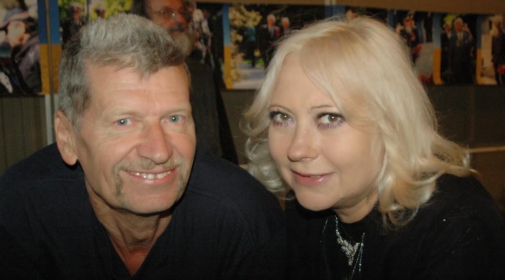 Василий Довжик и Лилия Золотоноша
