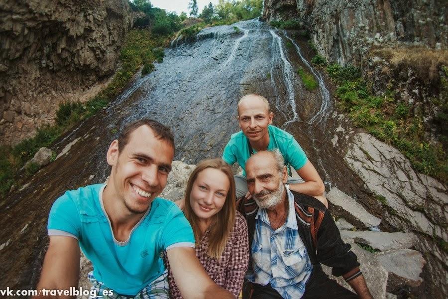 Дорога в Джермук, Кечутское водохранилище и Джермукский водопад