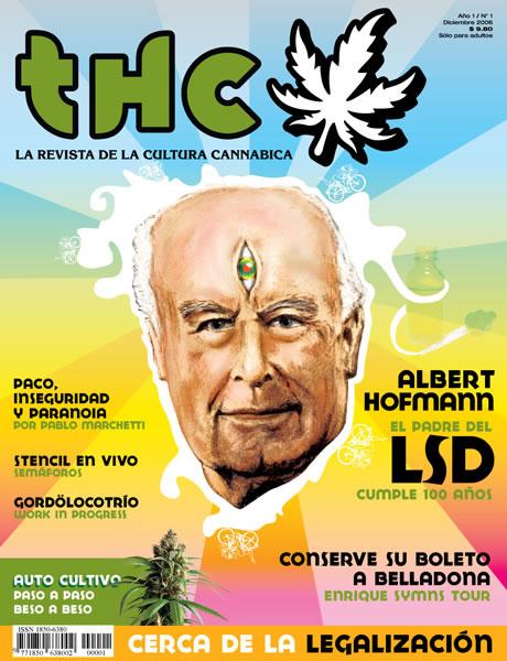 REVISTA THC Nº1 | ALBERT HOFFMANAL