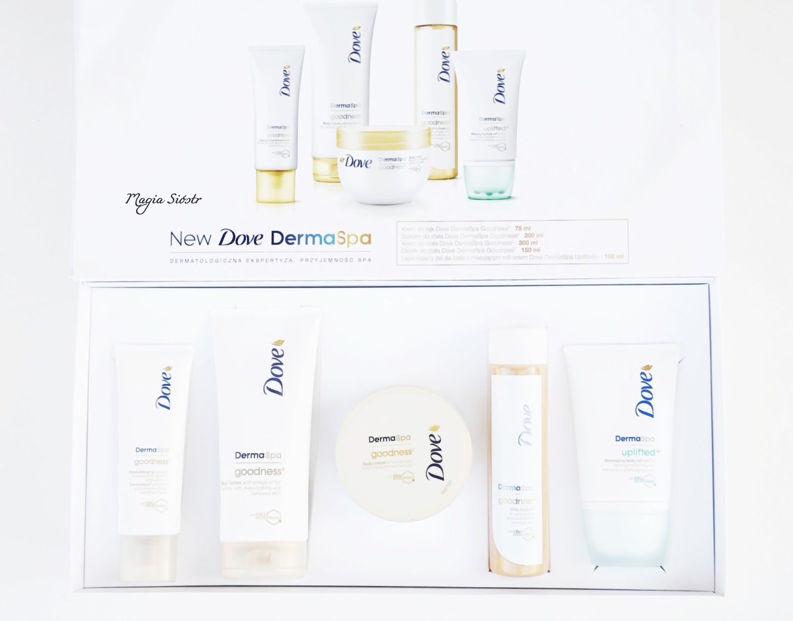 Dove DermaSpa kosmetyki do pielęgnacji ciała