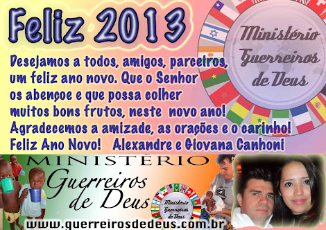 MISSES NO NGER COM Pr. ALEXANDRE CANHONI.