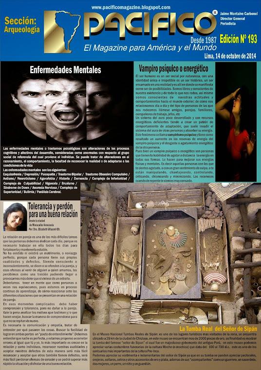 Revista Pacífico Nº 193 Arqueología