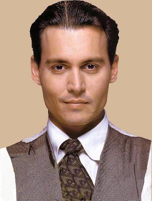 Short Hair Johnny Depp