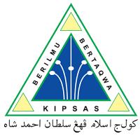 Jawatan Kerja Kosong Kolej Islam Pahang Sultan Ahmad Shah (KIPSAS) logo www.ohjob.info