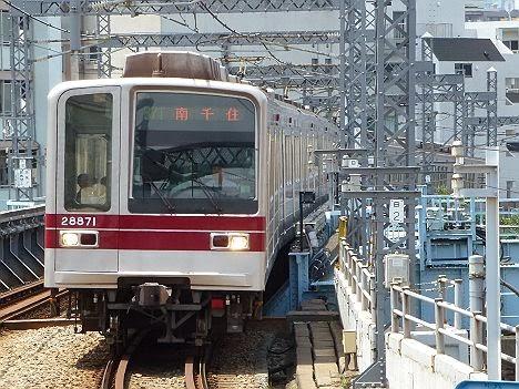 東京メトロ日比谷線 南千住行き6 東武20000系LED5(平日1本運行)
