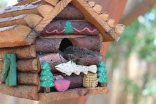 He made a home....