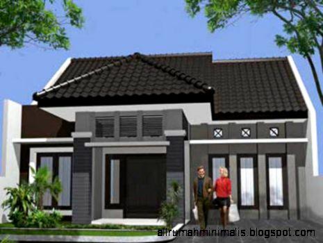 Gambar Rumah Minimalis Tropis Modern 1 Lantai
