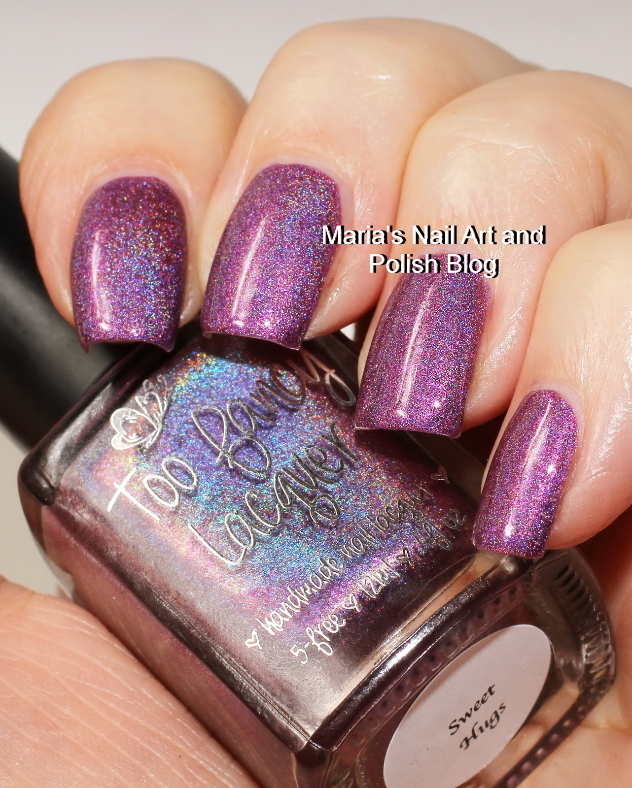 Marias Nail Art and Polish Blog: Too Fancy Lacquer Sweet Hugs, Nail ...