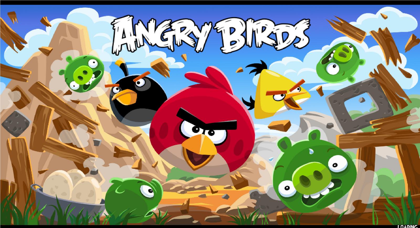 Angrybirds entrada