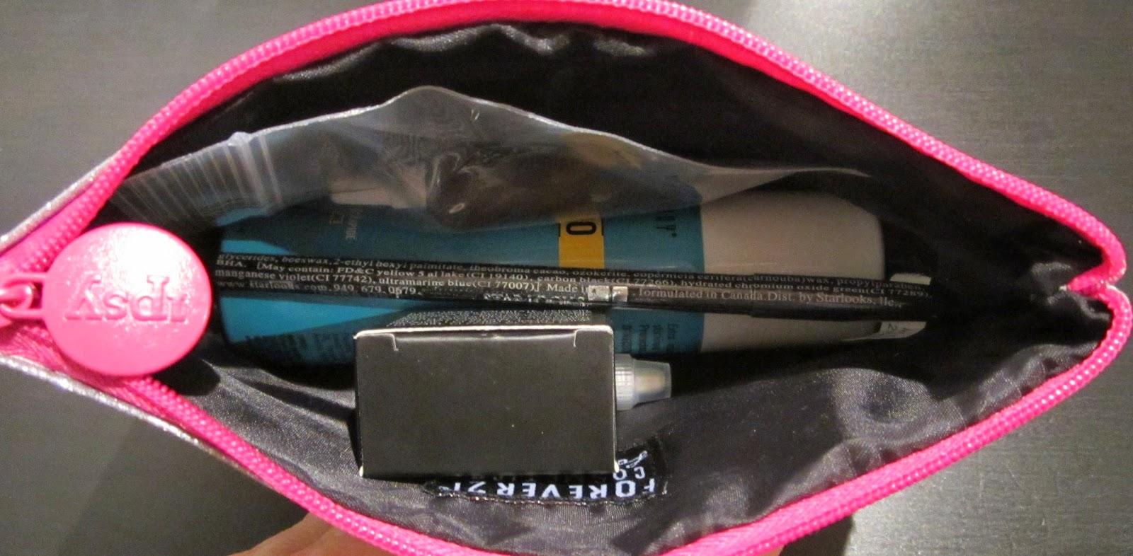 Girl meets Glitter November Ipsy Bag