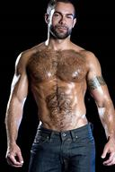 Studs and Bodybuilders with Furry Chest