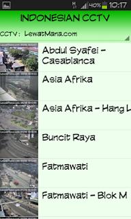 Aplikasi Indonesian CCTV untuk Android