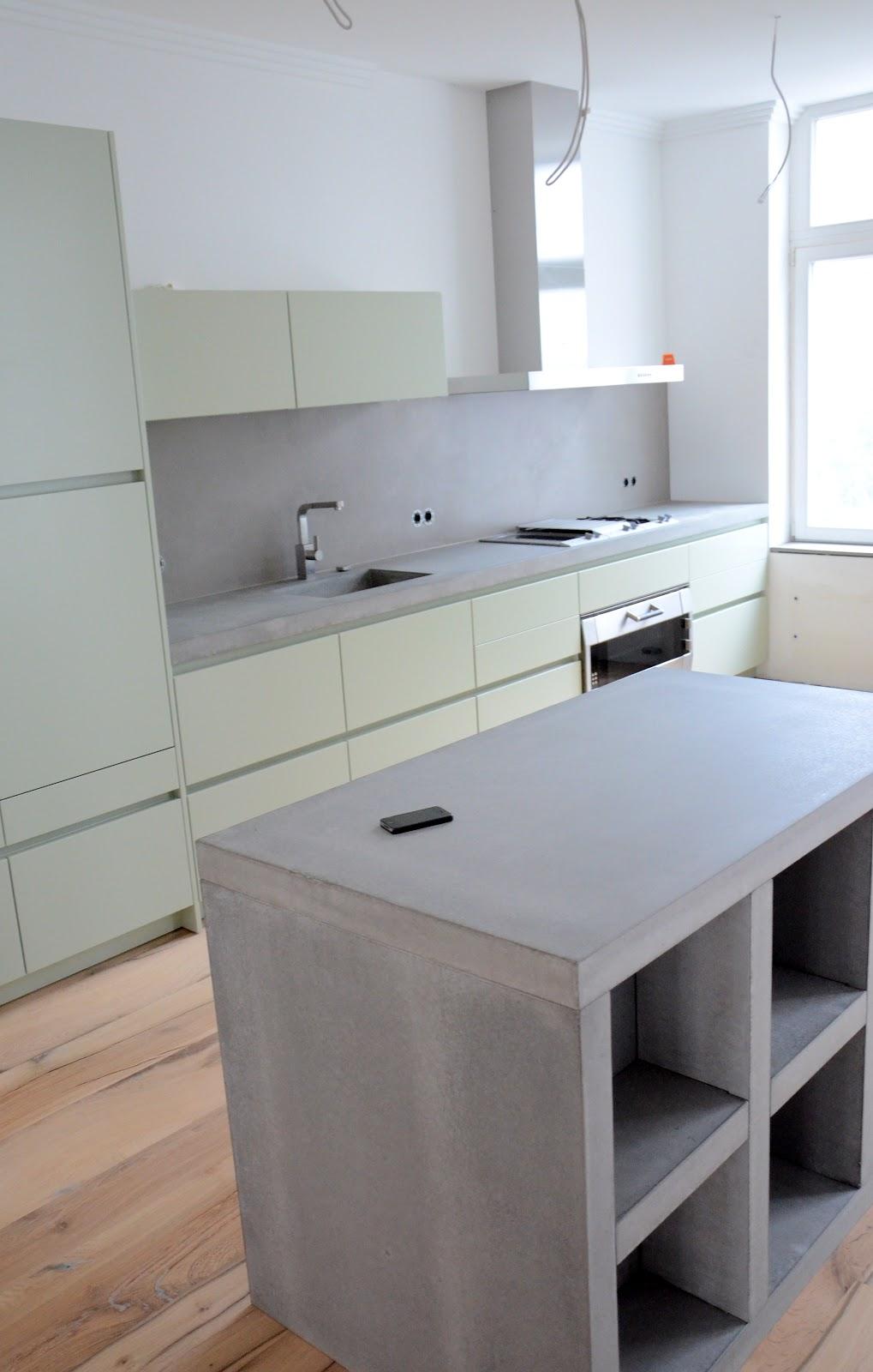 beton kuche steininger designers steinkche betonkche kche k chenschr nke einzeln ohne beton. Black Bedroom Furniture Sets. Home Design Ideas