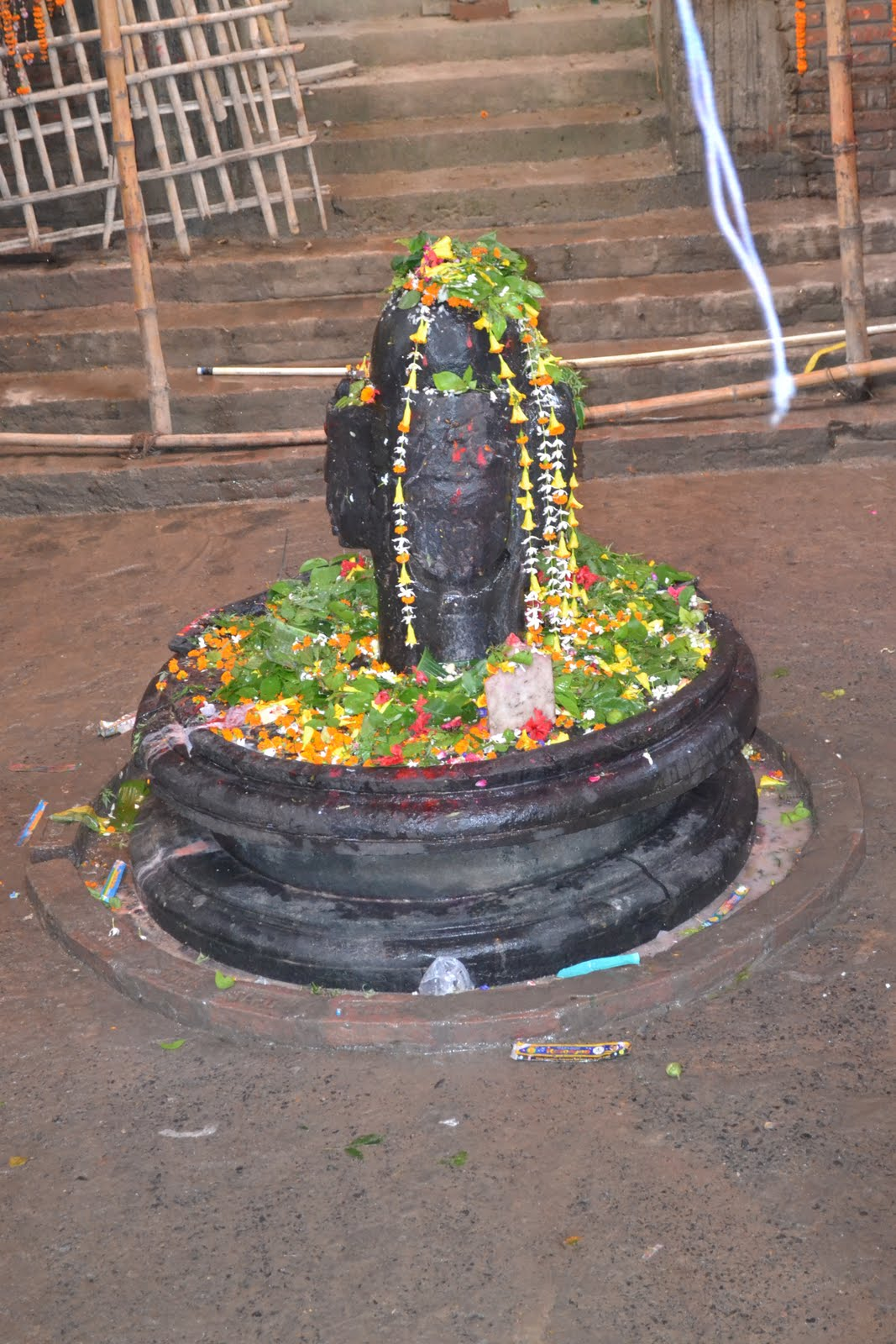 Choumukhi Mahadeva (Four faced Shiva) at Vaishali