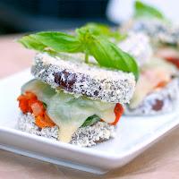 eggplant parmesan stacks