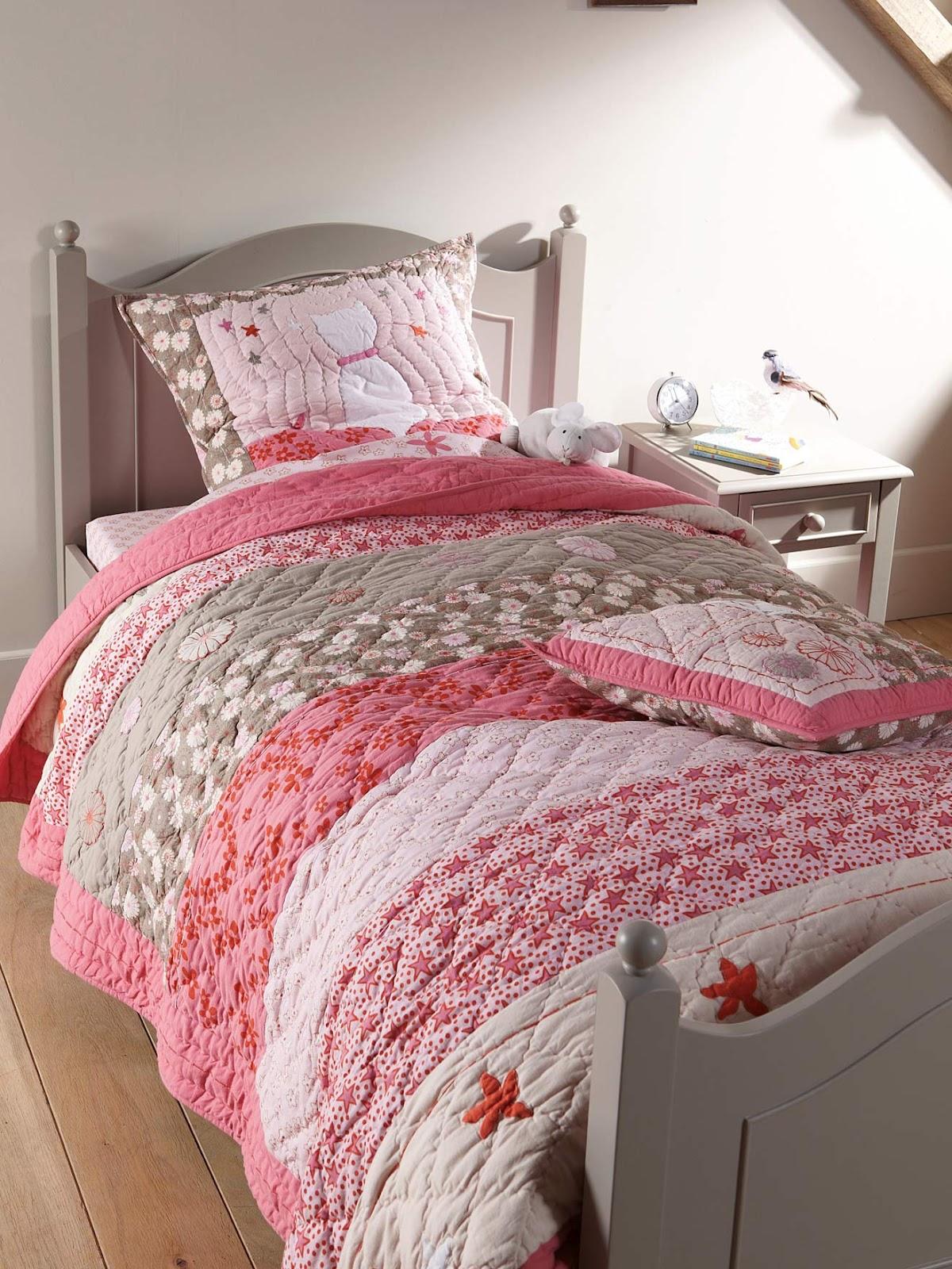 El beb entre flores ropa de cama ni os vertbaudet - Sheridan ropa de cama ...