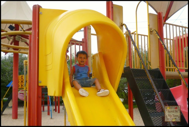 Creek Park Dubai playground