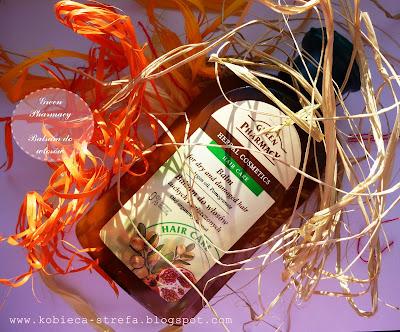 Elfa Pharm - Green Pharmacy - Balsam do włosów suchych i zniszczonych - olej arganowy i granat
