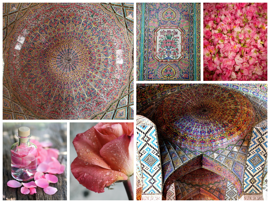Kolczyki Esfahan – Mawared, Arabian Rosewater